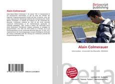 Couverture de Alain Colmerauer