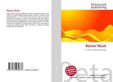 Bookcover of Rainer Nicot