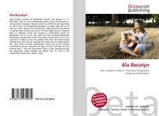 Bookcover of Ala Boratyn