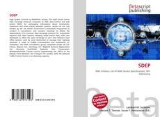 Bookcover of SDEP