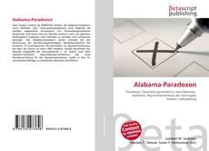 Capa do livro de Alabama-Paradoxon