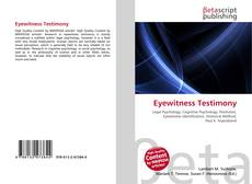 Bookcover of Eyewitness Testimony