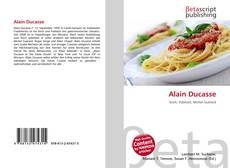 Buchcover von Alain Ducasse