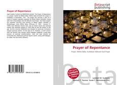 Prayer of Repentance的封面