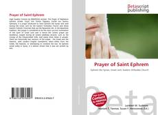 Buchcover von Prayer of Saint Ephrem
