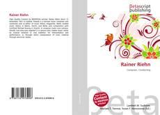 Bookcover of Rainer Riehn