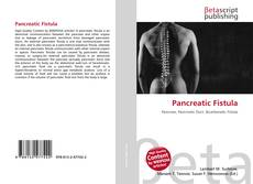 Pancreatic Fistula kitap kapağı