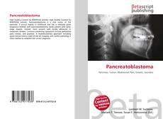 Buchcover von Pancreatoblastoma