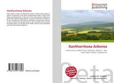 Bookcover of Xanthorrhoea Arborea