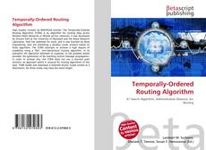 Bookcover of Temporally-Ordered Routing Algorithm