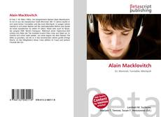 Bookcover of Alain Macklovitch