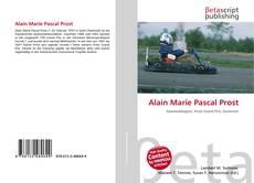 Buchcover von Alain Marie Pascal Prost