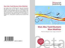 Capa do livro de Wan Abu Yazid Bustami Wan Mokhter