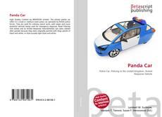 Bookcover of Panda Car