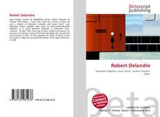 Bookcover of Robert Delandre