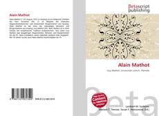 Buchcover von Alain Mathot