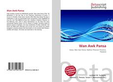 Wan Awk Pansa kitap kapağı