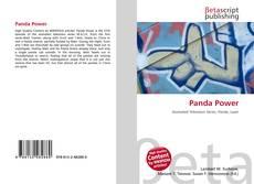 Bookcover of Panda Power