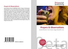 Borítókép a  Prayers & Observations - hoz