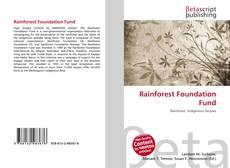 Обложка Rainforest Foundation Fund