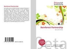 Bookcover of Rainforest Partnership