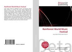 Обложка Rainforest World Music Festival