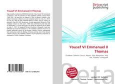 Bookcover of Yousef VI Emmanuel II Thomas