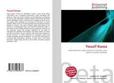 Capa do livro de Yousif Kuwa