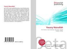 Yousry Nasrallah kitap kapağı