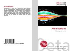 Couverture de Alain Romans
