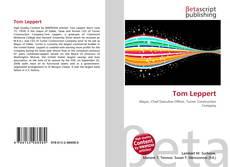 Portada del libro de Tom Leppert