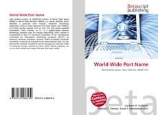 Обложка World Wide Port Name