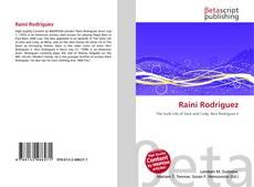 Buchcover von Raini Rodriguez