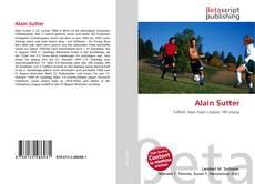 Buchcover von Alain Sutter