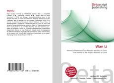 Bookcover of Wan Li