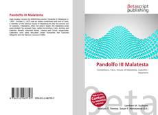 Bookcover of Pandolfo III Malatesta