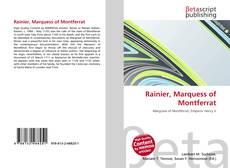Portada del libro de Rainier, Marquess of Montferrat