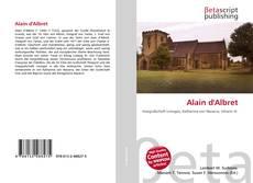 Couverture de Alain d'Albret