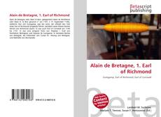 Bookcover of Alain de Bretagne, 1. Earl of Richmond