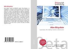 Buchcover von Alex Biryukov