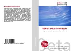 Capa do livro de Robert Davis (Inventor)