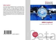 Couverture de ARIA (cipher)