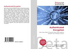 Bookcover of Authenticated Encryption