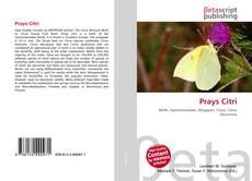 Bookcover of Prays Citri