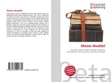 Bookcover of Moses Waddel