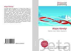Alajos Károlyi kitap kapağı