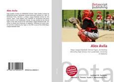 Capa do livro de Alex Avila