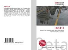 Buchcover von HMS E19
