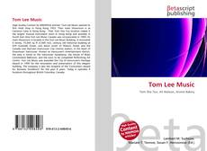 Portada del libro de Tom Lee Music