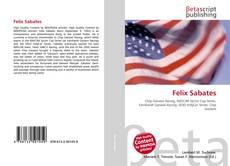 Bookcover of Felix Sabates